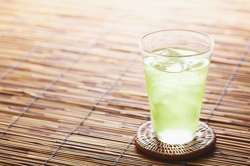 Detox-Water-For-Flat-Belly-Green-tea-detox-water