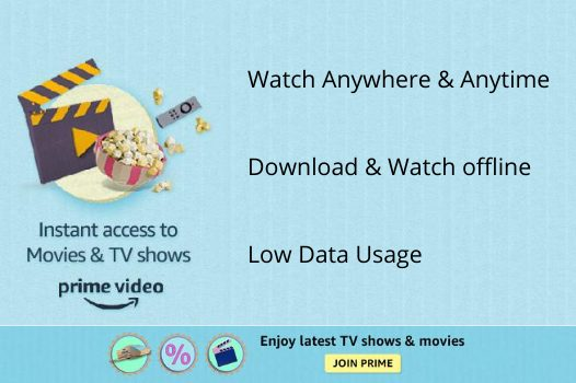 Watch Latest & New Released Movies with Amazon Prime Video