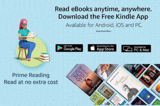 Read Hundreds Of eBooks For Free With Amazon Prime Reading