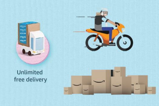Free & Fast Delivery For Amazon Prime Members