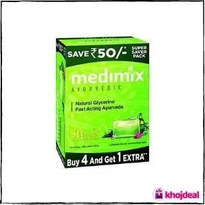 Medimix Ayurvedic Natural Glycerine Bathing Bar
