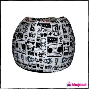 Comfy Bean Bags – Giant Comfy Bean Bag Without Fillers Cover
