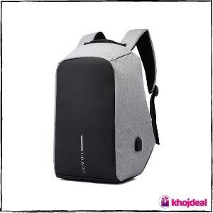 Fur Jaden 15-Litres Grey Anti-Theft Waterproof Backpack