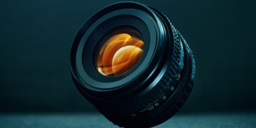 Focal length of lens