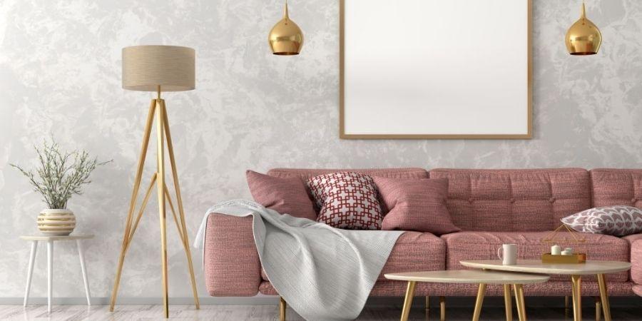 Zen decor in the living room