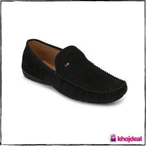 Big Fox Men's Loafer Shoes (Black)