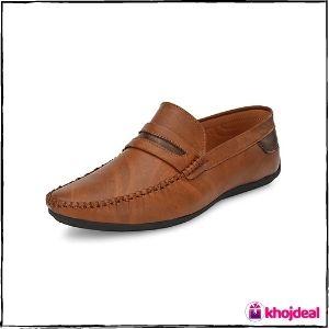 FENTACIA Men's Loafer Shoes (Tan)