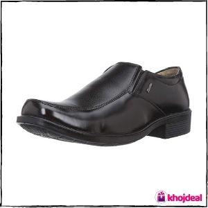 BATA Men's Remo M1 Loafer Shoes (Black)