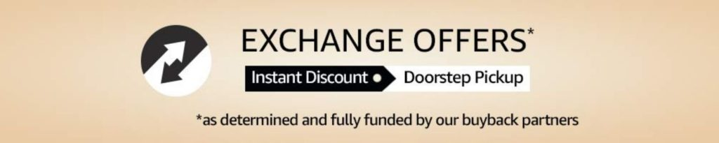 Amazon Great Indian Festival Exchange Offer