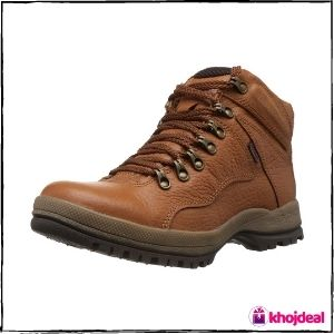 Red Chief Men's Lace-up Leather Boots (Tan)
