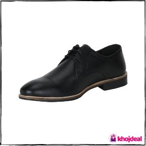 Red Tape Bond Street Men's Black Formal Shoes
