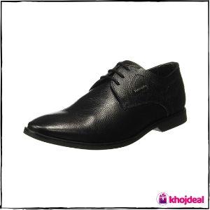 Hush Puppies Men's Black Formal Shoes : Aaron Derby