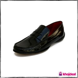 Ruosh Men's Black Formal Shoes