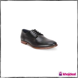 Peter England Men's Black Formal Shoes