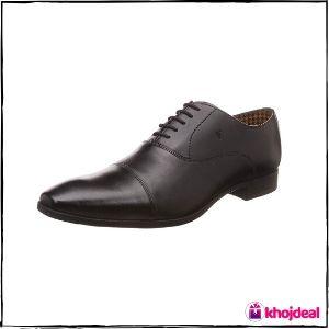 Van Heusen Men's Black Formal Shoes