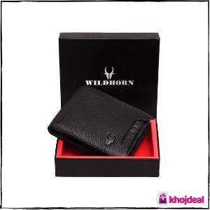 WildHorn Men's Leather Wallet