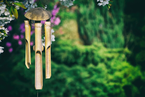 Wind spinners and chimes