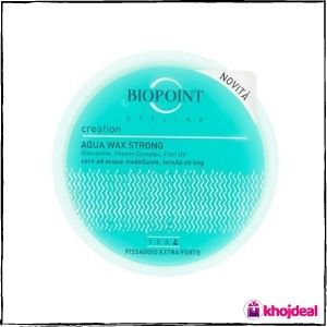 Biopoint water-based wax for a wet effect