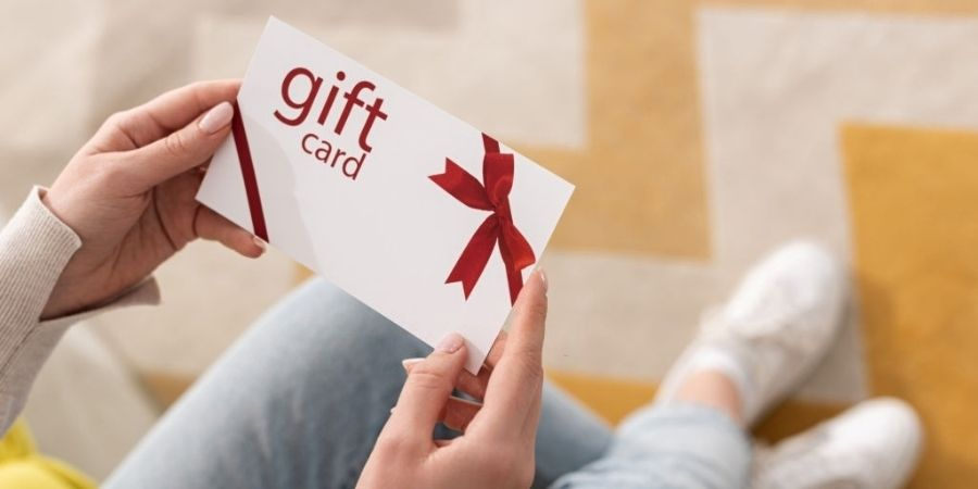 Advantages of gift cards