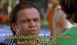 Funny dialogue from Dhol Hindi Movie