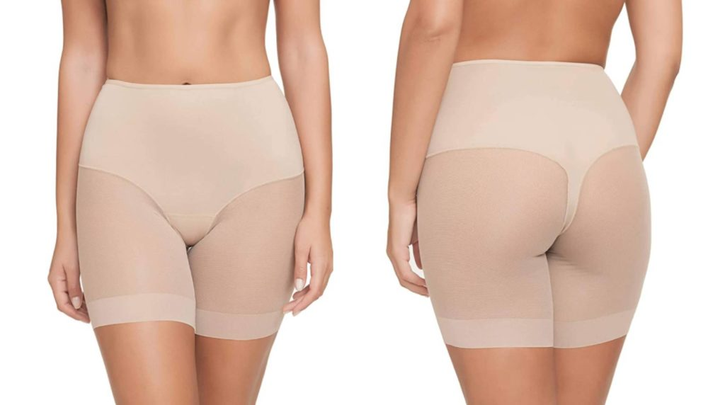 Invisible girdle to wear under pencil skirts