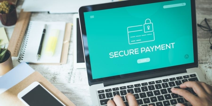 Remember to pay securely