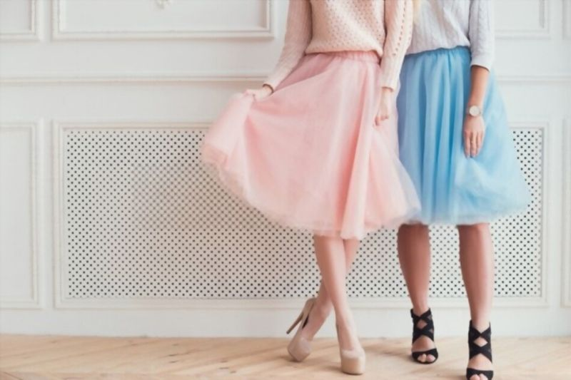 Skirts and shorts with animalier and spotted print