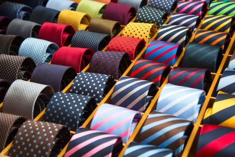 Ways to store a tie