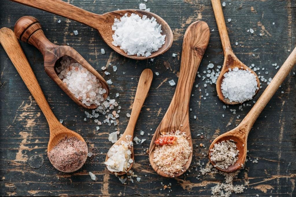 Coarse Salt And Aluminium