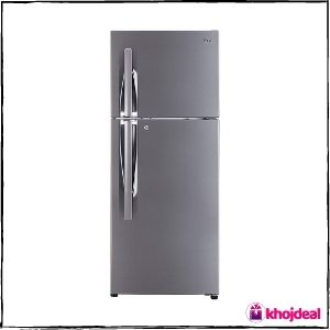 LG 260L 3 Star Double Door Refrigerator (GL-I292RPZL)
