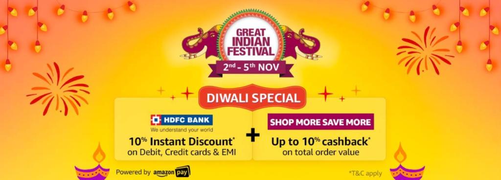 Amazon Diwali Sale 2021