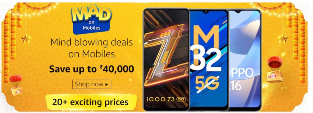 Amazon Diwali Offer Mobile