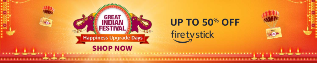 Amazon Diwali Offer On Streaming Devices
