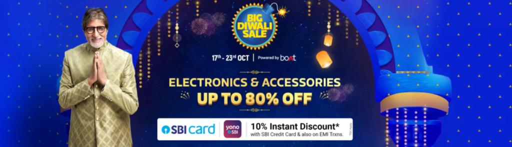 Big Diwali Sale Offer on Electronics