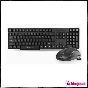 Zebronics Zeb-Companion 107 Wireless Keyboard and Mouse Combo