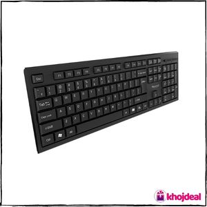 . Quantum QHM-7406 Wireless Keyboard