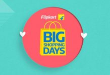Flipkart Big Shopping Days