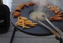 Fryin' Saucer Outdoor Cooker