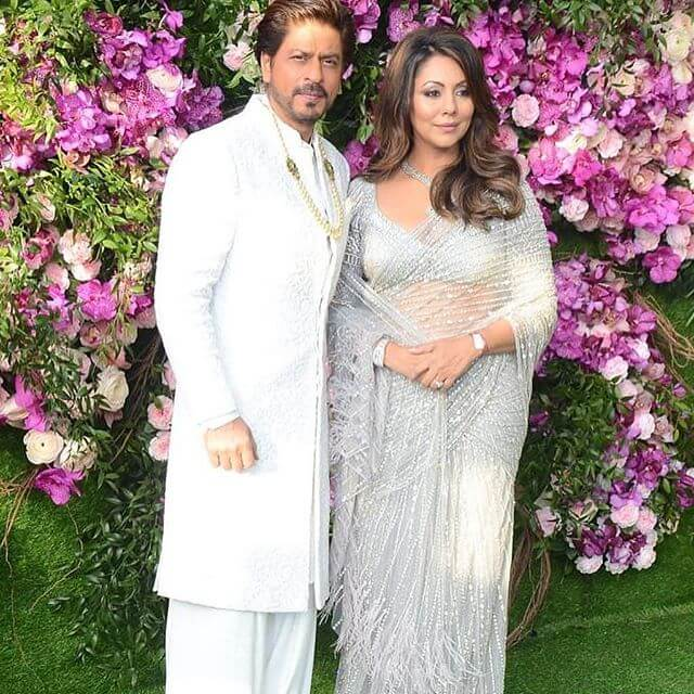Shahrukh Khan At Ambani Wedding
