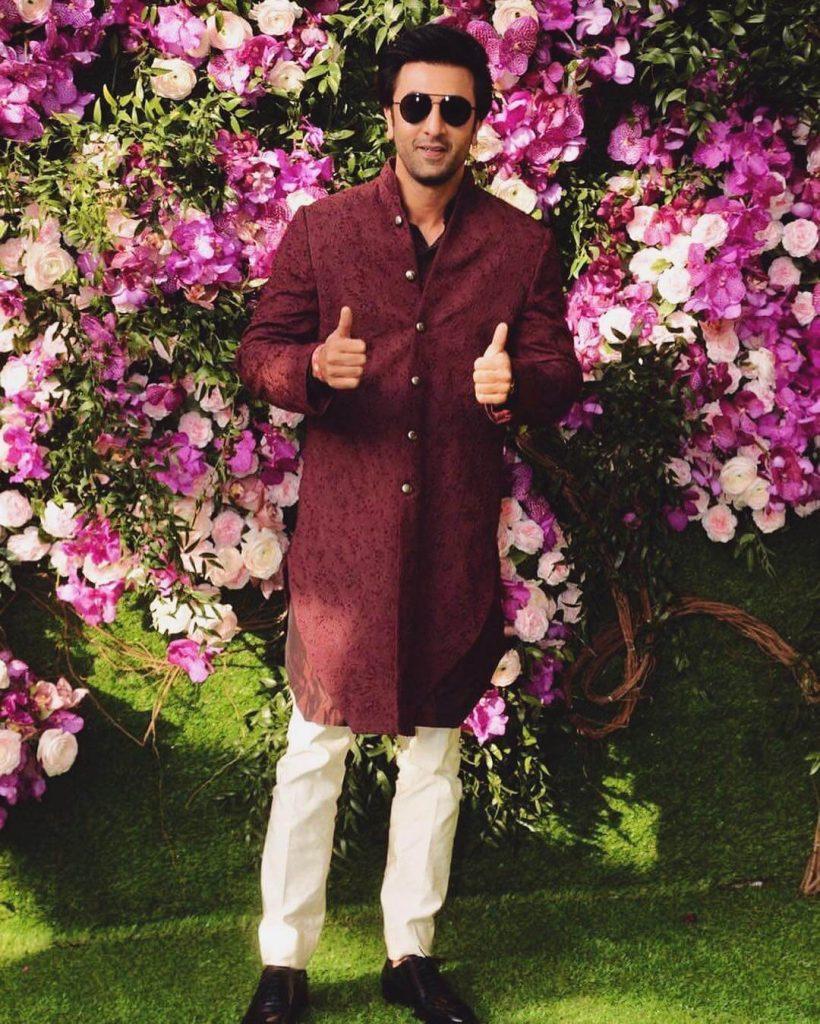 Ranbir Kapoor At Ambani Wedding