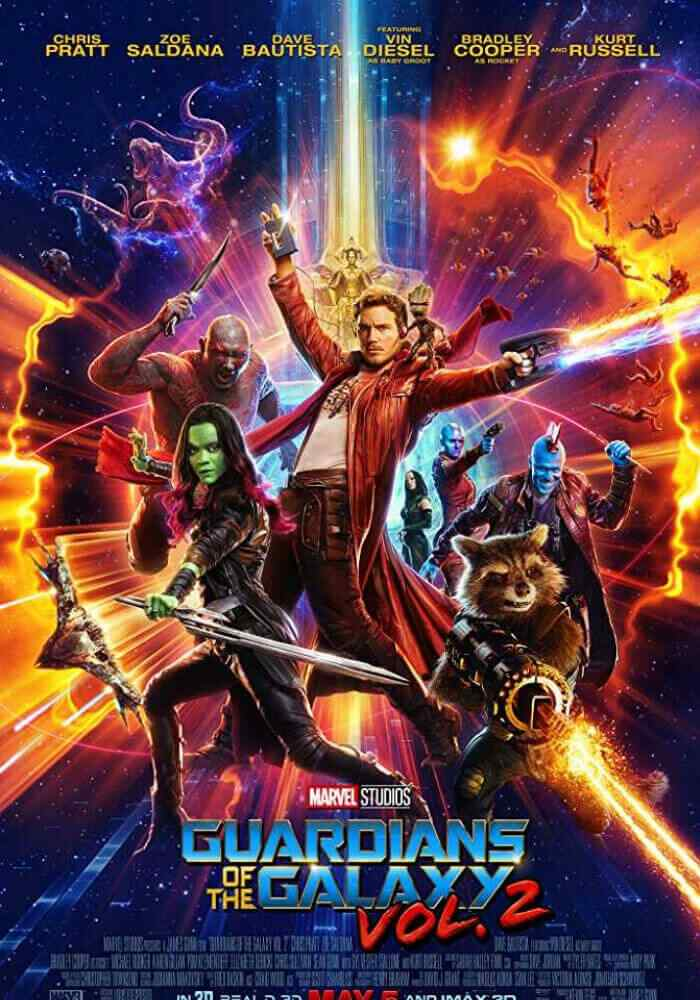 Guardians of the Galaxy, Vol. 2 Poster