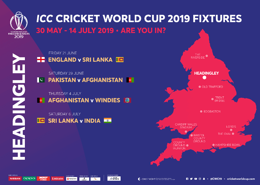 Headingley Stadium ICC Cricket World Cup 2020 Venue