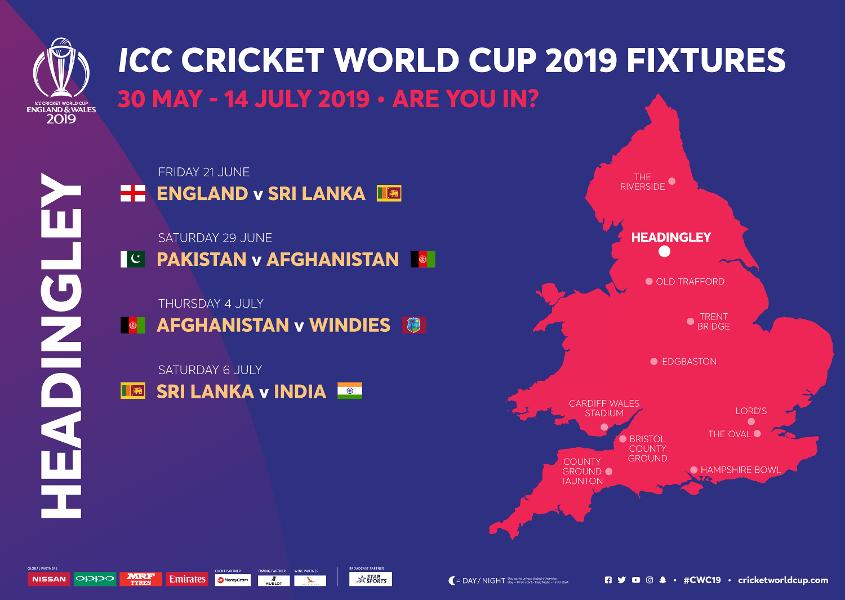 Headingley Stadium ICC Cricket World Cup 2021 Venue
