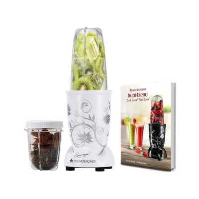 Wonderchef Nutri-Blend 400 Watts Juicer Mixer Grinder