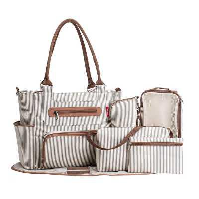 SoHo Designs Baby's Grand Central Station Diaper Bag Set