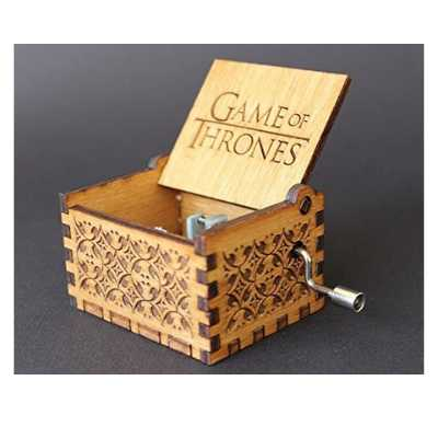 Game of Thrones Hand Cranked Collectable Music Box