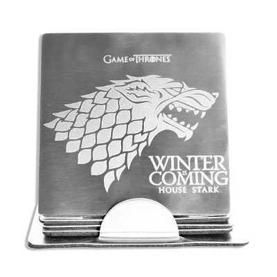 Game of Thrones Winter is Coming Coaster Set