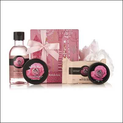 The Body Shop British Rose Gift Set