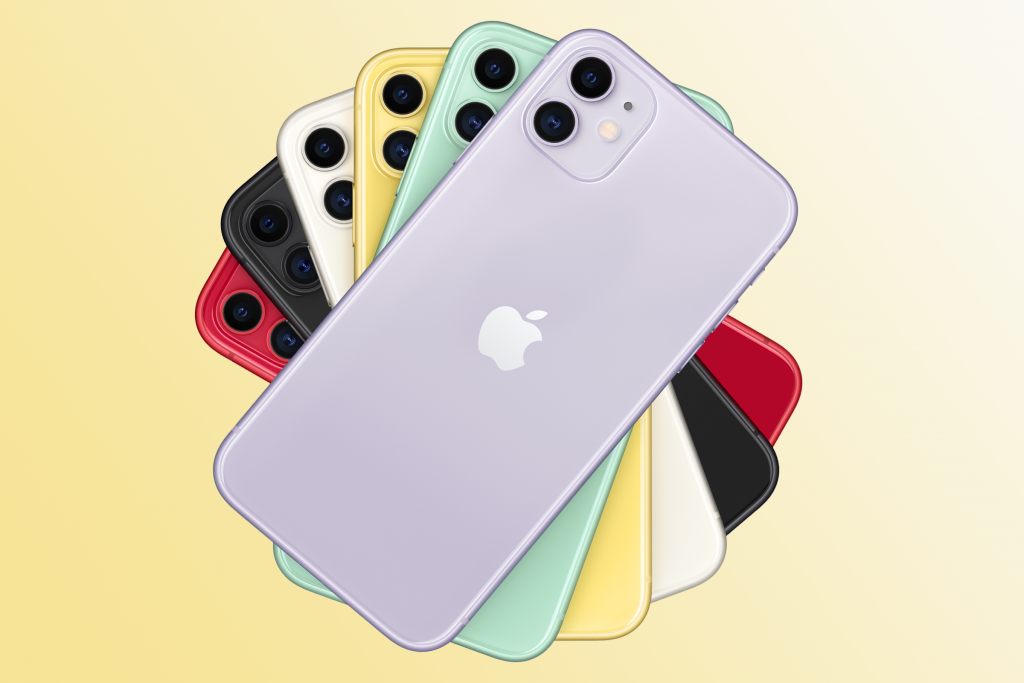 Image of 6 apple iphone 11