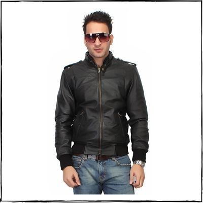 Bareskin-Black-Leather-Bomber-Jacket